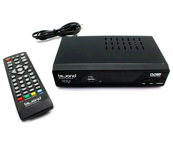 TDT HD DVB-T2 HDMI - SCART - REPRODUCTOR USB