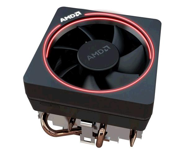 Ventilador Cpu Amd Wraith Prism Led Rgb - Ryzen AM4