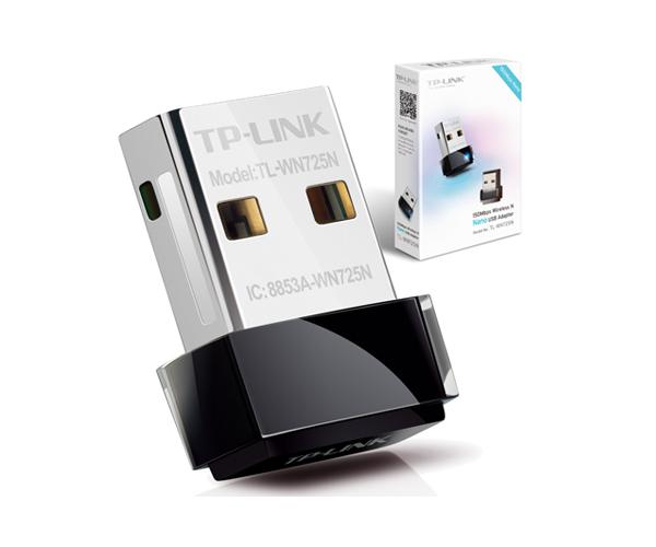 Adaptador nano USB wifi 150mbps wl tl-wn725n