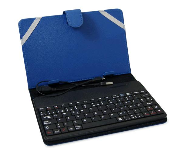 Funda universal tablet 6 7 pulgadas con teclado bluetooth - Funda teclado bluetooth ...
