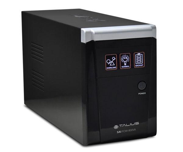 Sai Talius 800va  LED - 2 shucko - RJ45 - rj11 - interactivos offline