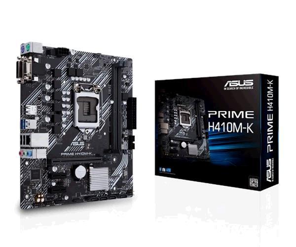 Placa base Asus Prime H410m-r - Socket 1200 - mATX - DDR4 - 2x Usb 3.2 - Vga - Dvi-d - Hdmi