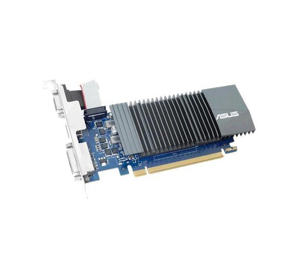 Tarjeta gráfica VGA Asus Gt710-sl-1gd5 Silent 1Gb Ddr5 - Hdmi - Vga - Perfil bajo