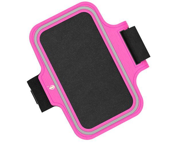 Funda brazalete Smartphone Rosa - 6 - 6.5 pulgadas - Banda reflectante - Jo507 - One+