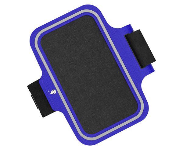 Funda brazalete Smartphone Azul - 6 - 6.5 pulgadas - Banda reflectante - Jo507 - One+