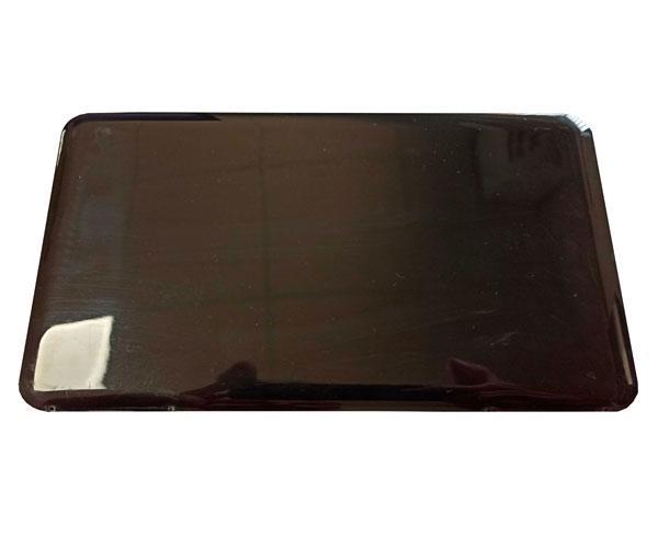 Estuche porta mascarillas negro rectangular 190 x 110 mm