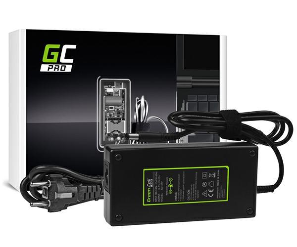 Cargador portatil Gaming Dell Alienware 13 R3 - 19.5v  9.23a  7.4x5mm - 180w Greencell