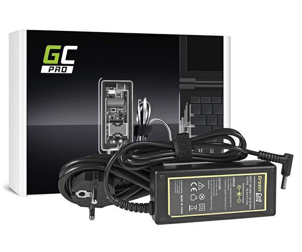 Cargador portatil Hp 19.5v 3.33a 4.5x3.0mm pin central envy Greencell