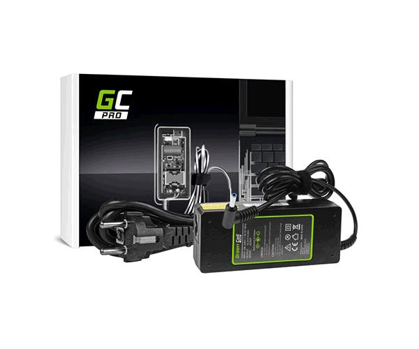 Cargador portatil Hp 19.5v 4.62a 4.5x3.0mm pin central GREENCELL
