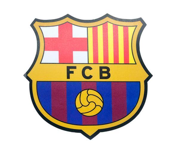 Alfombrilla Forma Escudo F.C Barcelona  con licencia