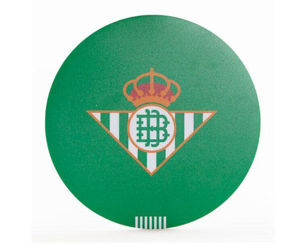 Alfombrilla Forma Escudo Real Betis Balompie  con licencia