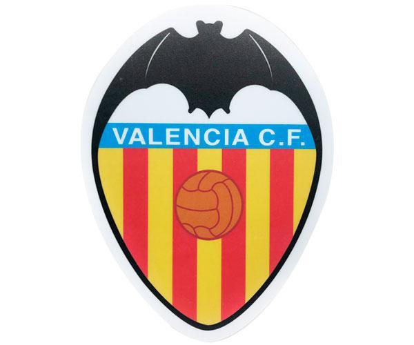 Alfombrilla Forma Escudo Valencia C.F  con licencia