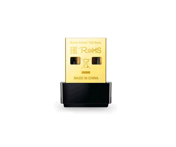 Adaptador wifi Archer T2u Nano dualband tp-link ac600 - 2.4Ghz - 5Ghz