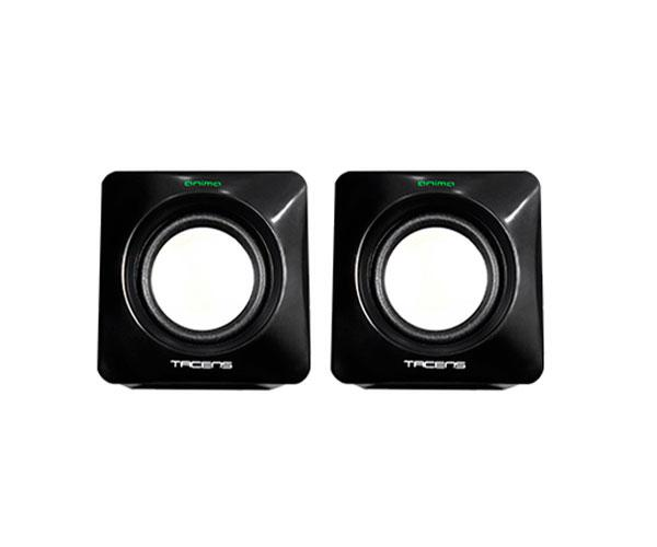 Altavoces 2.0 Tacens Anima As1 - 8w - Usb - Control volumen - Negro