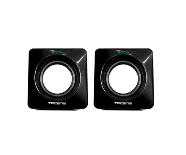 Altavoces 2.0 Tacens Anima As1 - 8w - Usb - Control volumen - Negro