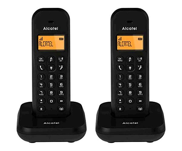 Telefono inalámbrico Alcatel Duo E155 Negro