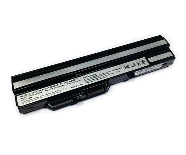 BATERIA PORT. LG X110 -  MSI U100 - U90 - AKOYA E1210 NEGRA