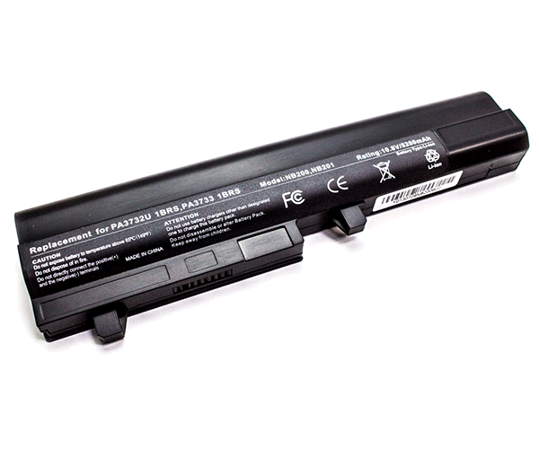 Bateria port. Toshiba Satellite Mini nb200 - nb205  negra