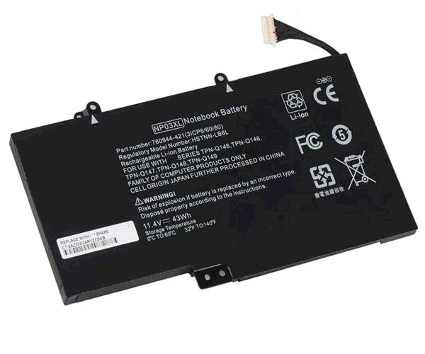 BATERIA PORT. HP ENVY PAVILION 13- X360 - NP03XL