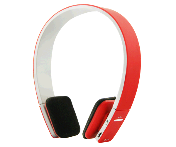 AURICULARES BLUETOOTH BLET CON JACK 3.5MM ROJO