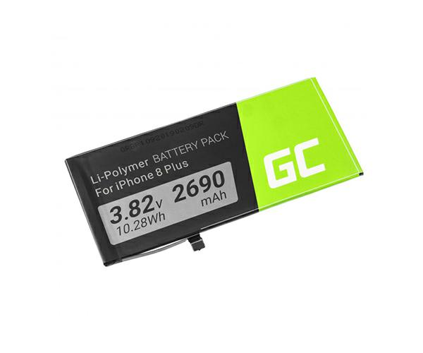 Bateria movil para iPhone 8 PLUS Greencell 3.82V 2690MAH