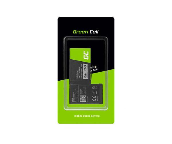 Bateria movil para iPhone XS MAX Greencell 3.8v 3174 mah + adhesivo