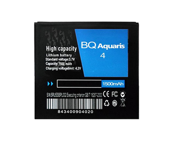 BATERIA MOVIL COMP. BQ AQUARIS 4