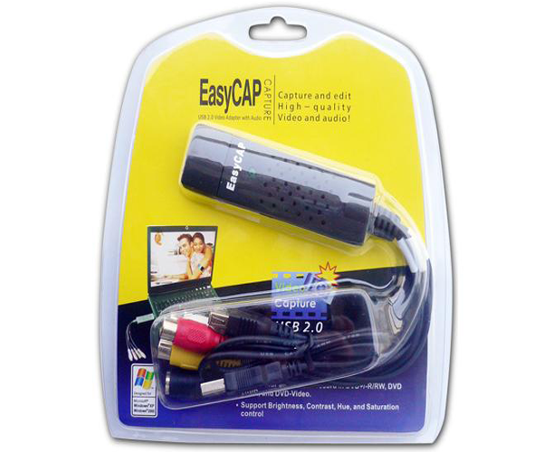 Capturadora rca easy cap USB