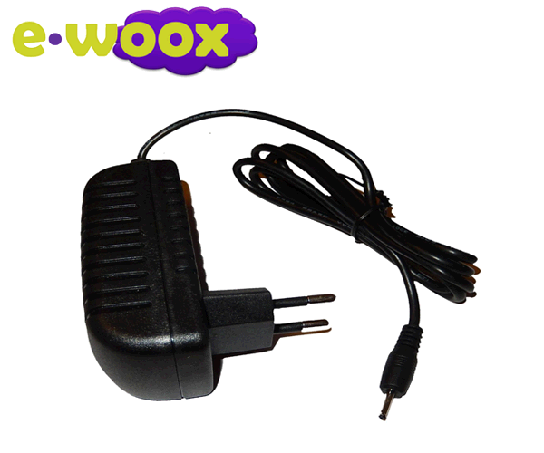 Cargador e-woox tablet 5v 2a 2.5 x 0.7mm punta fina