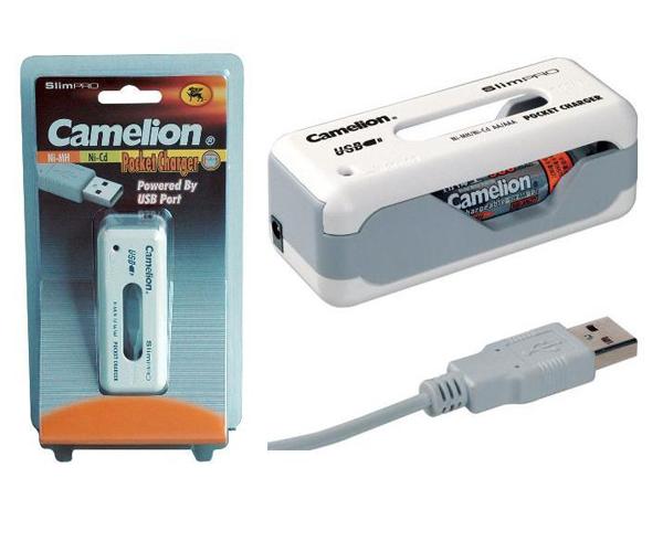 CARGADOR PILAS USB AA - AAA NI-MH - NI-CD