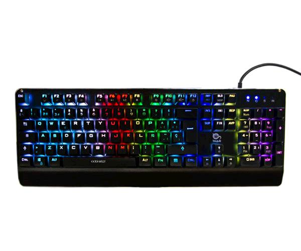 Teclado gaming Talius cerberus mecanico - RGB - switch kailh red