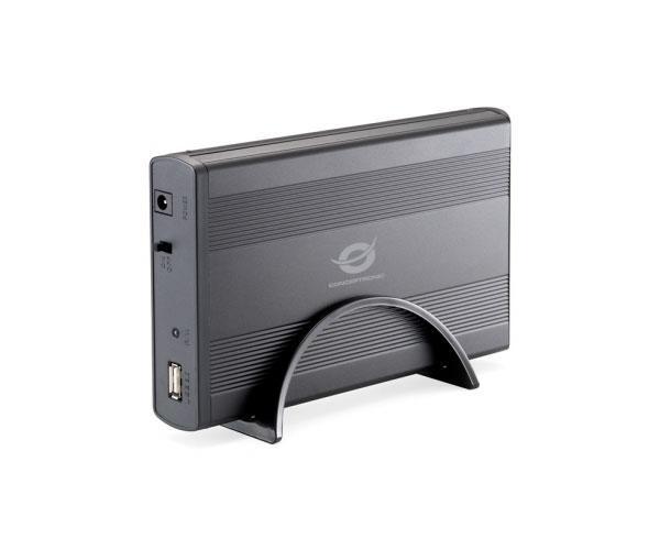 Caja externa Conceptronic Sata 3.5 - USB 2.0 - Negra - Chd3su