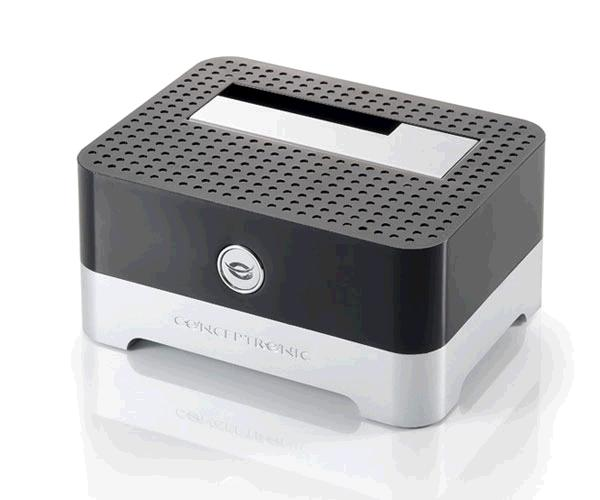 Docking station conceptronic sata 2.5 - 3.5 - Ssd - USB 2.0 - negro