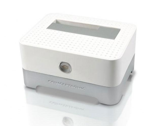 Docking station conceptronic sata 2.5 - 3.5 - Ssd - USB 3.0 - blanco