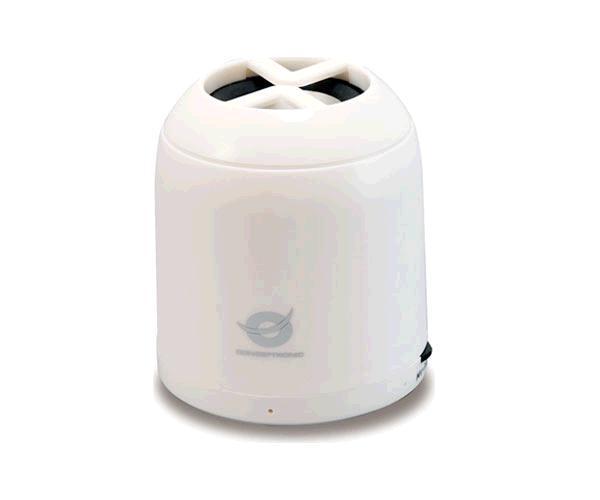Altavoz Conceptronic Bluetooth Cllspkp2btw - 3w - Bateria 300mah - Blanco