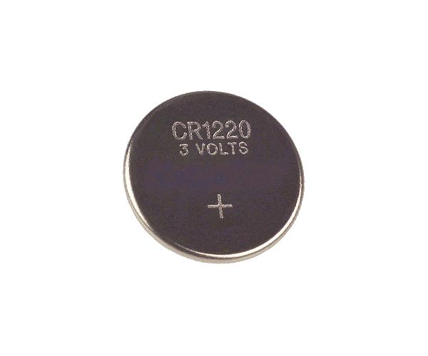 PILA BOTON LITIO CR1220 3V (5 UDS)