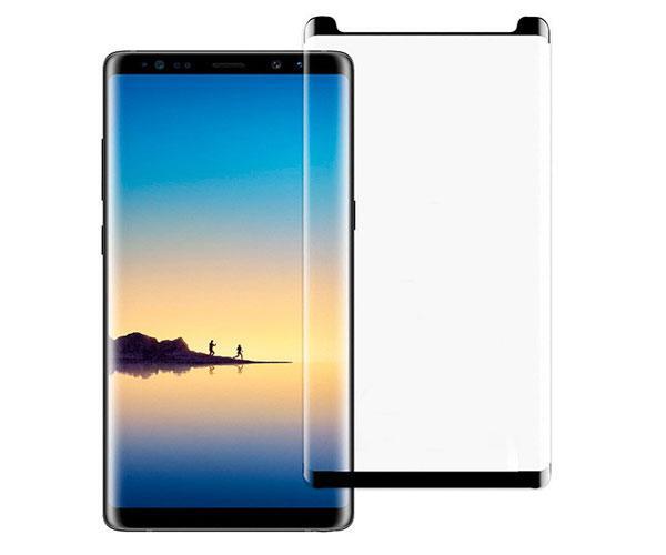 Cristal templado Samsung note 9 negro 3d