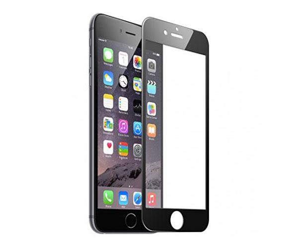 Cristal templado iPhone 6-7-8 plus negro full glue