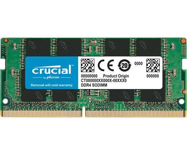 Memoria ram crucial DDR4 16Gb 2666mhz - SODIMM - Non-ecc - CT16G4SFRA266