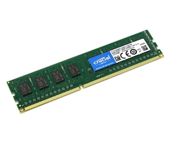 MEMORIA RAM CRUCIAL DDR3L 4GB 1600MHZ - CL11- DIMM -  CT51264BD160B
