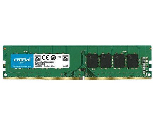 Memoria ram crucial DDR4 8Gb 2400mhz - DIMM - Non-ecc  ct8g4dfs824a