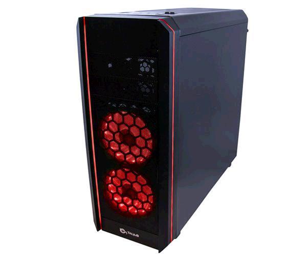 Caja ATX gaming Talius daemon LED Rgb - lateral cristal templado - USB 3.0