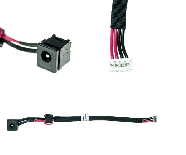 Dc-Jack cable Toshiba Satellite a300 - l650  v000210960