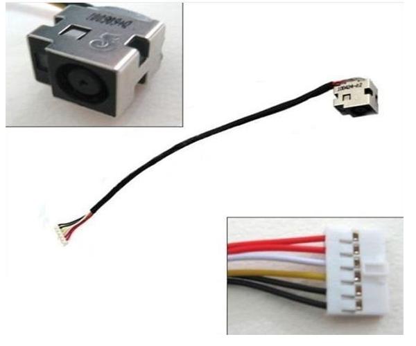 Dc-Jack cable Hp dv6 - cq61 - cq71 - g61 - 23cm