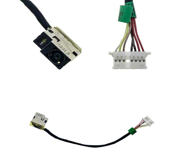 DC-JACK CON CABLE HP OMEN 15-A - 15-AC - 15-AX001NP - HP 255    799736-F57