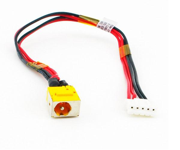Dc-Jack con cable Acer Aspire 5735 - 5235 - 5335 5 pines