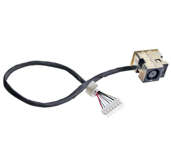 Dc-Jack cable Hp 630 - 631 - 635 - 646121-001 - 7 Pines