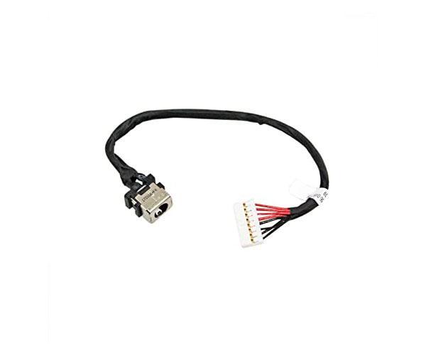 Dc-Jack cable Hp Dv7-2000 - Dv7-3000 - 24cm