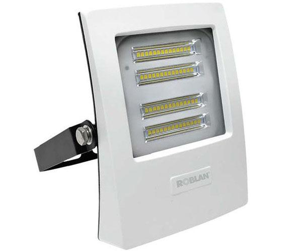 PROYECTOR LED SMD ROBLAN BLANCO - 50W - 6500K - LUZ DIA - 4750LM - 190-250V - IP65