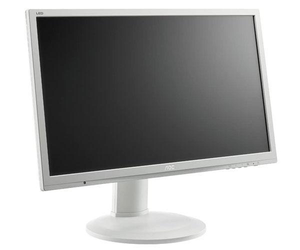 Monitor Ocasión Led 24 pulgadas Aoc E2460pq Plata - Altavoces integrados - Vga - Dvi - Dp